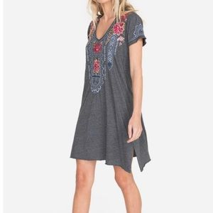 Johnny Was Davis embroidered dress small